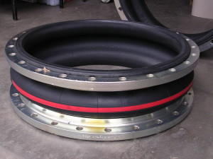 Flanged Rubber Expansion Bellow